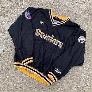 Vintage 90's Reebok Pittsburgh Steelers Pullover